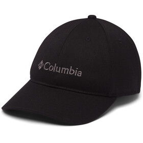 Columbia Lodge Verstelbare achter Ball Cap, black/embroidery
